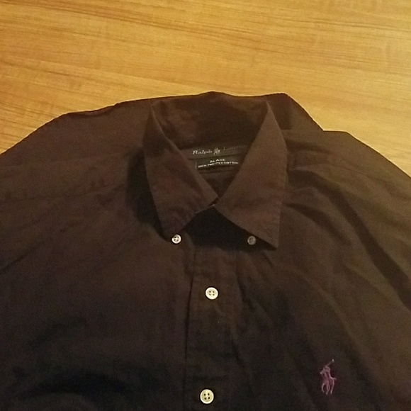 af7aef3b4 Polo Ralph Lauren Men's Black Long Sleeve Shirt. M_5c53ce424ab633f589b425cb